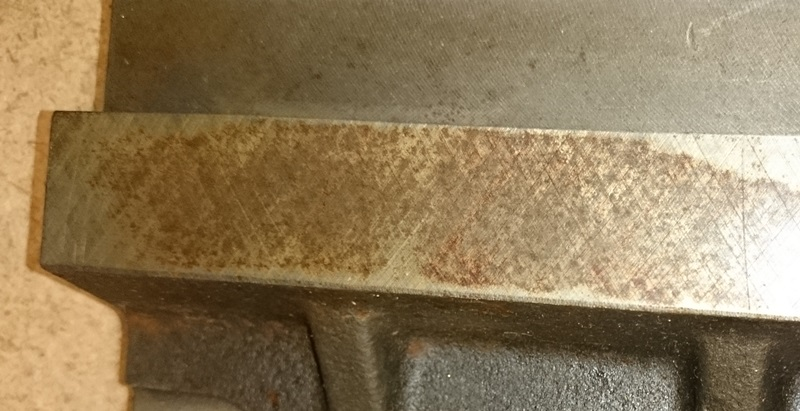 rust after scraping