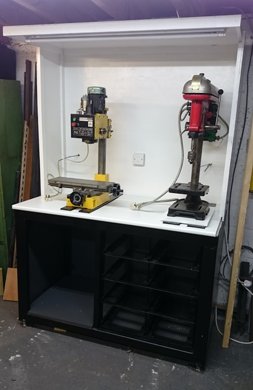 Mill And Drill Workbench Bazmonaut